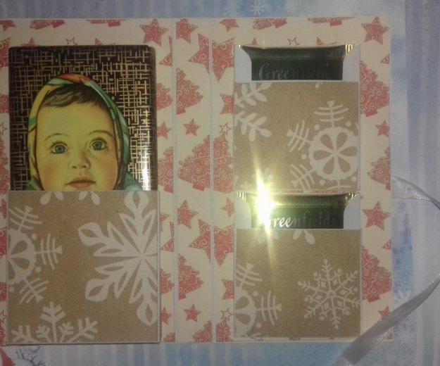 Новогодние  открытки шоколадницы. Фото 3. Климовск.