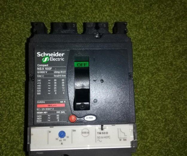 Автоматический выключатель nsx100 lv429630. Фото 1. Санкт-Петербург.