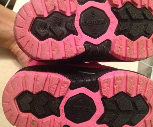 Зимние ботинки на девочку 20-21р. Фото 4. Люберцы.