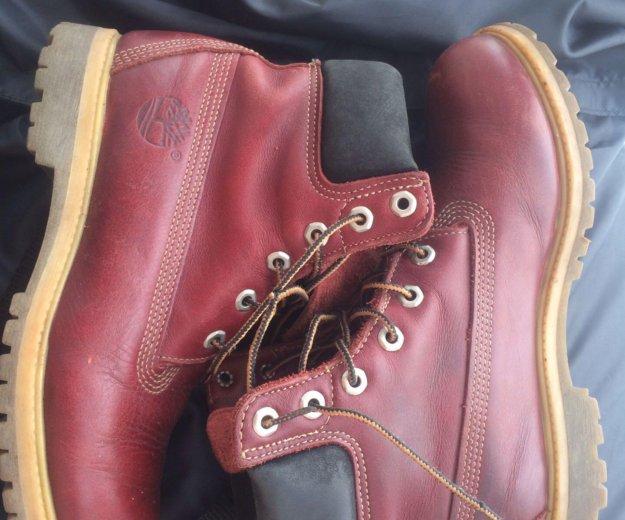 Ботинки кожаные женские timberland  размер 39 . Фото 1. Химки.
