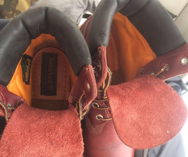 Ботинки кожаные женские timberland  размер 39 . Фото 3. Химки.