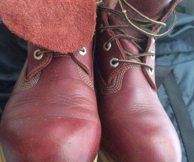 Ботинки кожаные женские timberland  размер 39 . Фото 2. Химки.