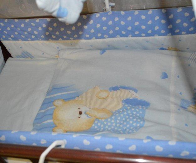 Кроватка маятник. Фото 2. Волжский.