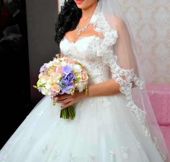 Красивое и счастливое свадебное платье!!. Фото 3. Ростов-на-Дону.