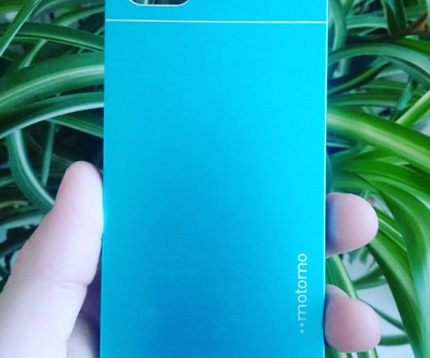 Чехол для iphone 5 5s se металлик, голубой. Фото 1. Калязин.