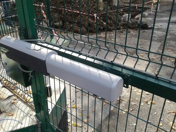 Установка ворот. Фото 2. Коркино.