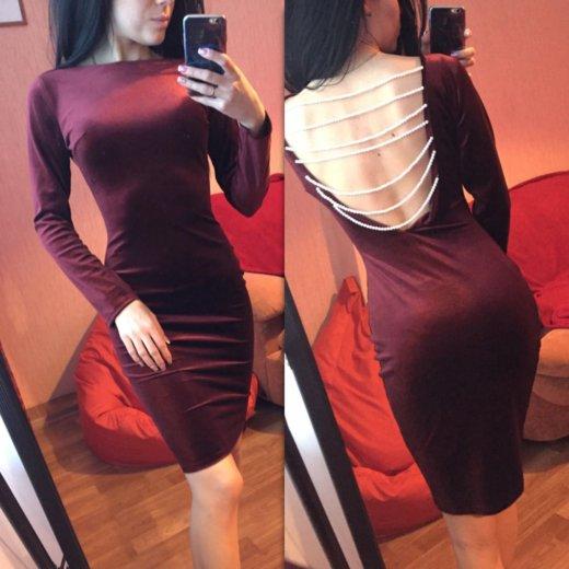Новое бархатное платье. Фото 1. Красноярск.
