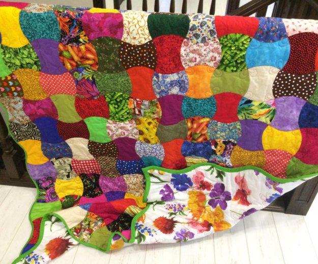 Одеяло пэчворк. Фото 1. Тюмень.