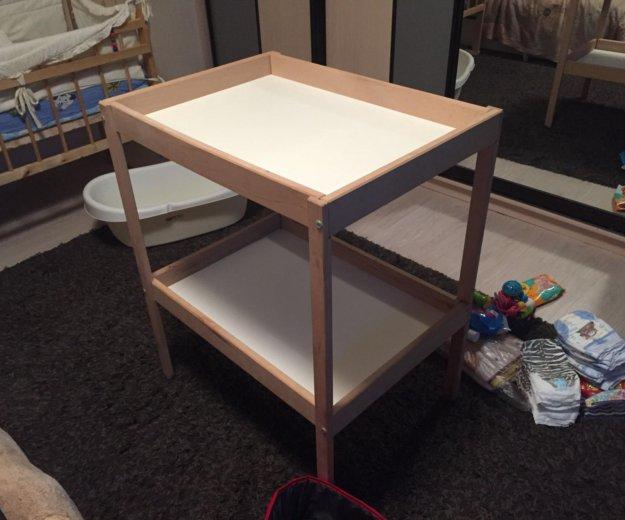 Пеленальный столик. Фото 2. Видное.