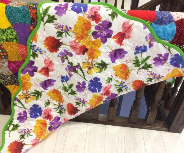 Одеяло пэчворк. Фото 2. Тюмень.