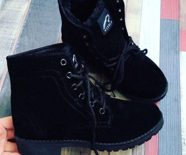 Зимние новые ботинки. Фото 1. Абакан.