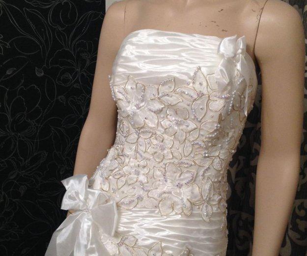 Платье русалка выпускное -свадебное. Фото 2. Люберцы.