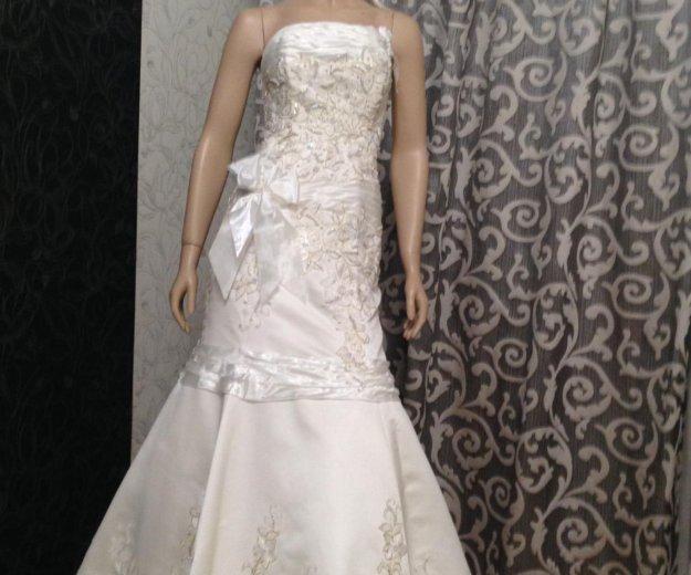 Платье русалка выпускное -свадебное. Фото 1. Люберцы.