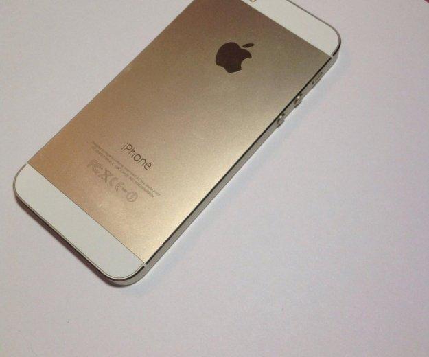 Iphone 5s gold 16gb. Фото 1. Москва.