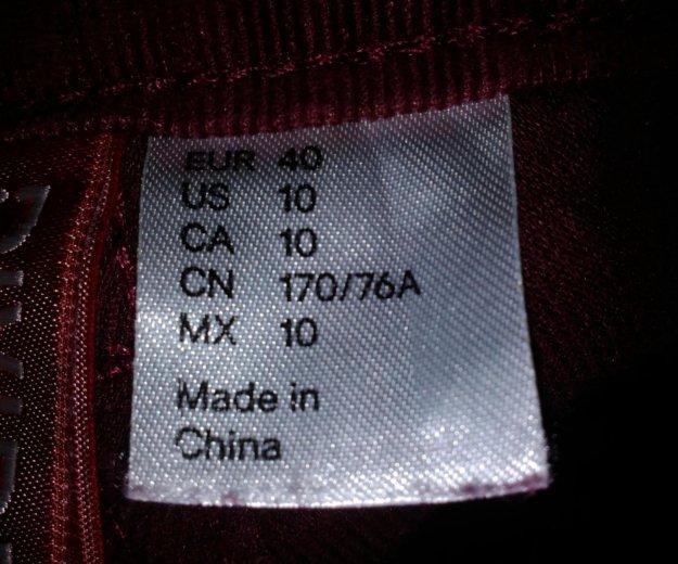 Джинсы-брюки микровельвет. Фото 3. Стерлитамак.