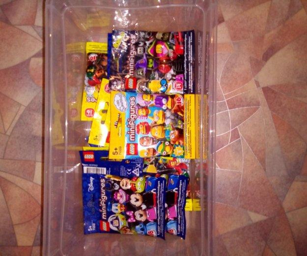 Лего минифигурки в упаковках, новые. Фото 2. Ижевск.