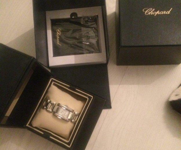 Часы в подарочной коробке реплика chopard. Фото 3. Москва.