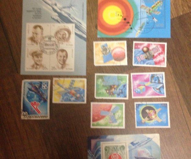 Марки самолеты, воздушные шары и космические кораб. Фото 1. Калининград.