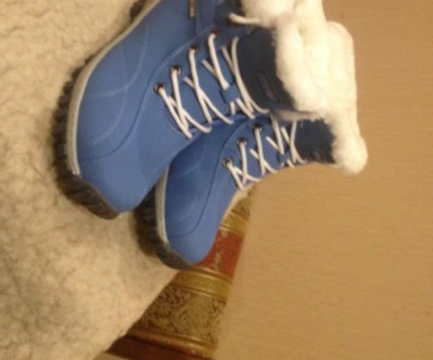 Зимние ботинки 39-40размер. Фото 1. Санкт-Петербург.