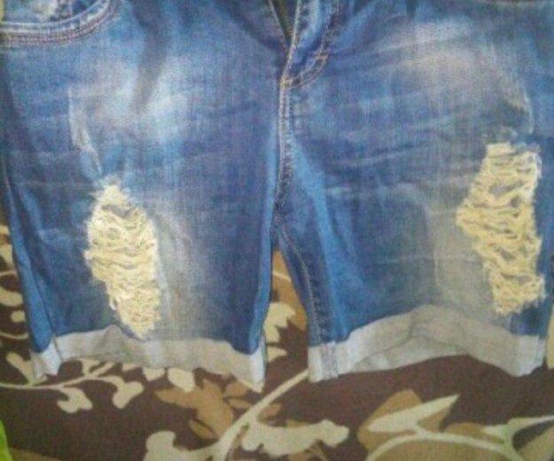 Джинсовые шорты. Фото 1. Смоленск.