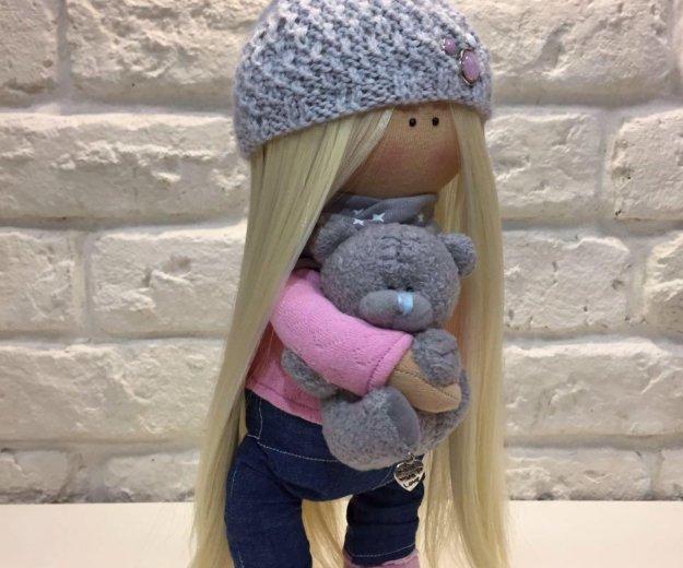 Интерьерная кукла ручной работы. Фото 2. Москва.