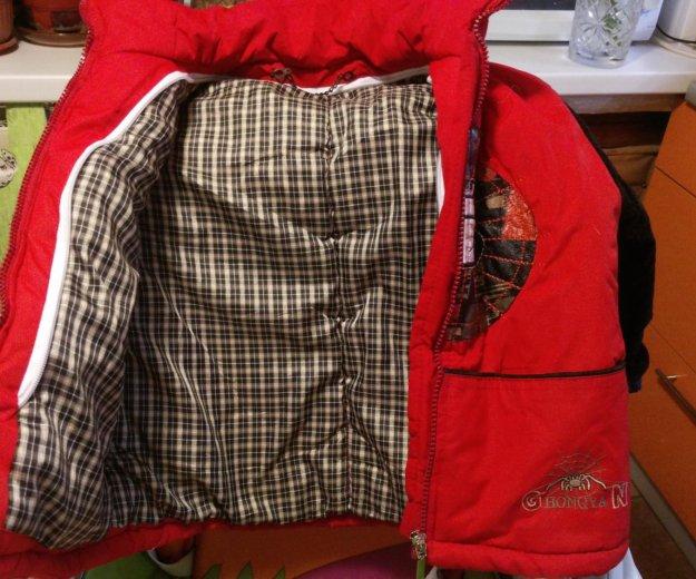 Зимняя теплая куртка на мальчика. Фото 1. Москва.