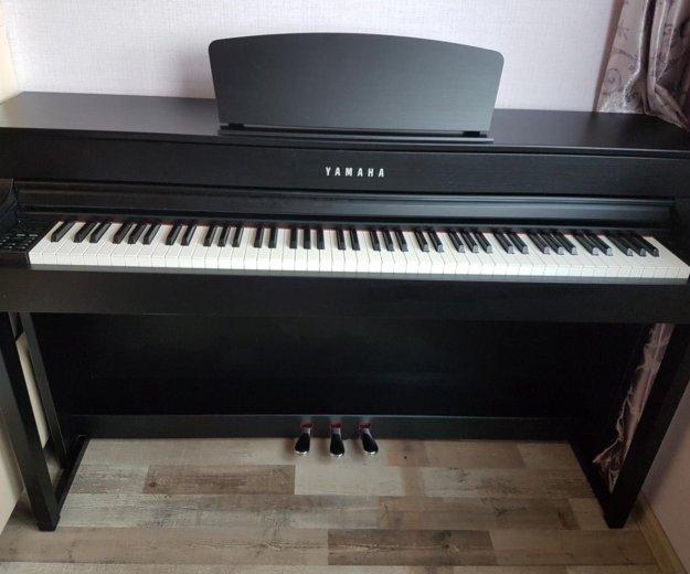 Электронное пианино yamaha clavinova clp 535. Фото 4. Москва.