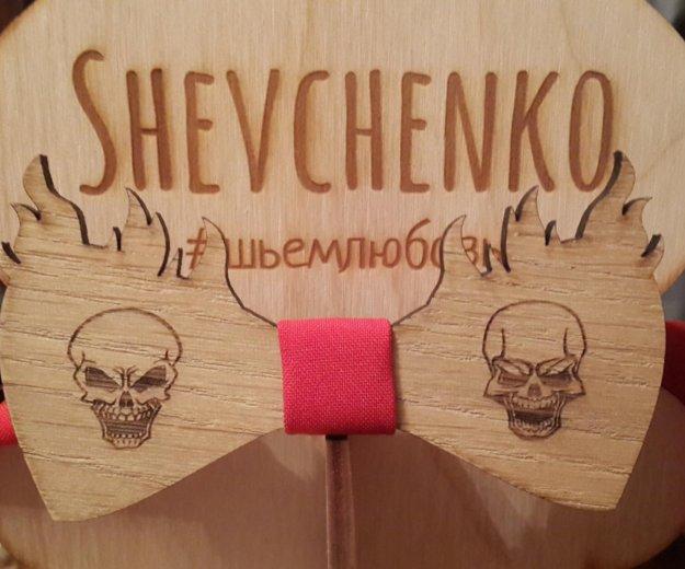Деревянная галстук бабочка. Фото 1. Краснодар.