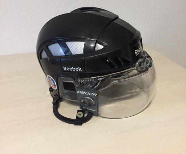 Хоккейный шлем с визором!!!. Фото 1. Екатеринбург.