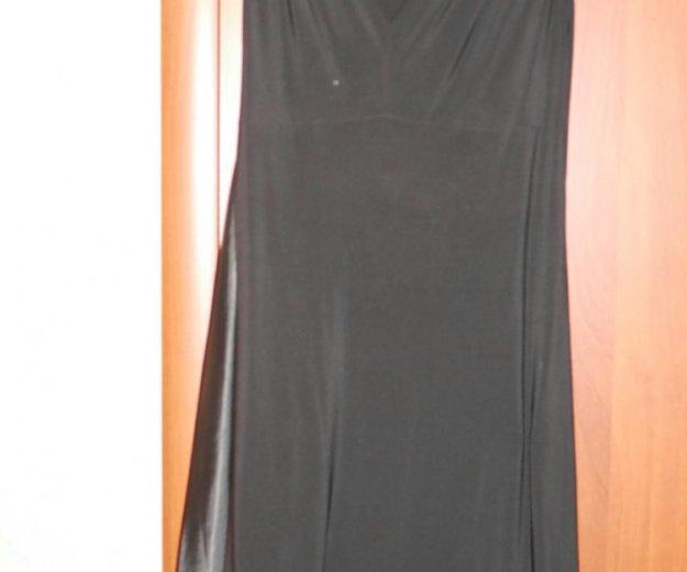 Чёрное платье 52-54. Фото 1. Липецк.