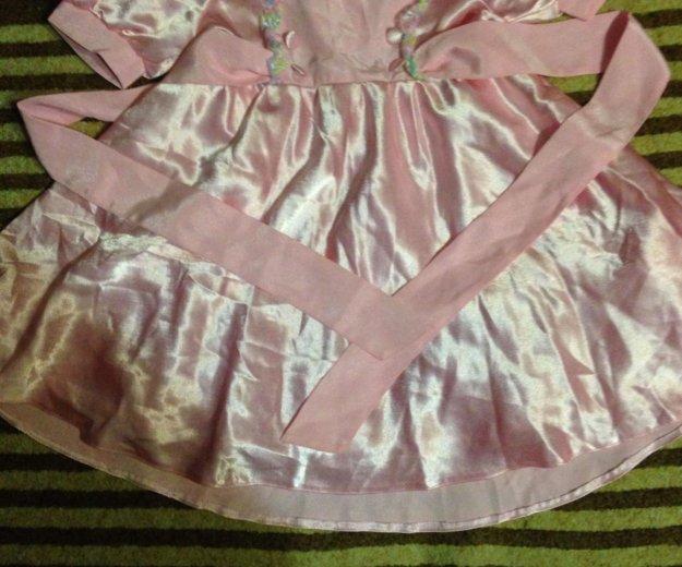 Детское атласное платье. Фото 1. Мытищи.