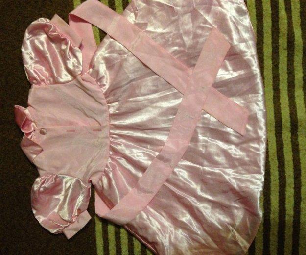Детское атласное платье. Фото 2. Мытищи.