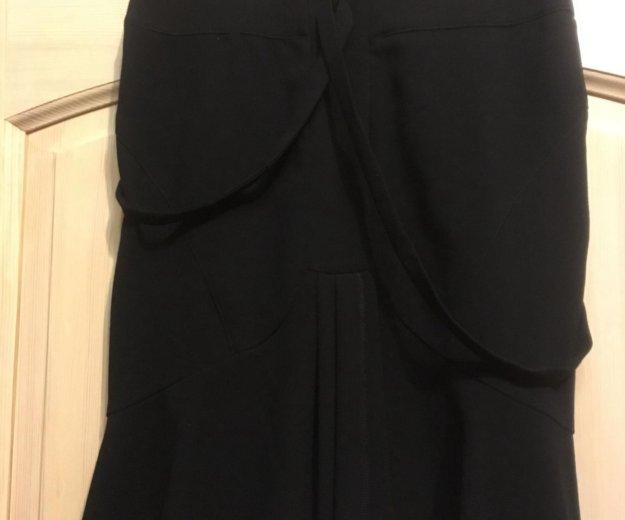 Новая чёрная дизайнерская юбка. Фото 2. Люберцы.