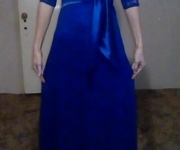 Вечернее платье.размер 42-44,б/у 1 раз. Фото 1.