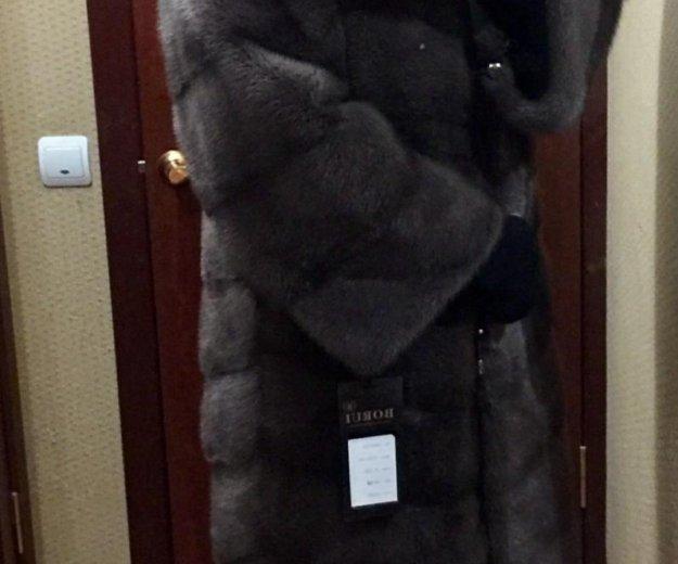 """Роскошная шуба из норки , """"рубашка"""". Фото 1. Москва."""