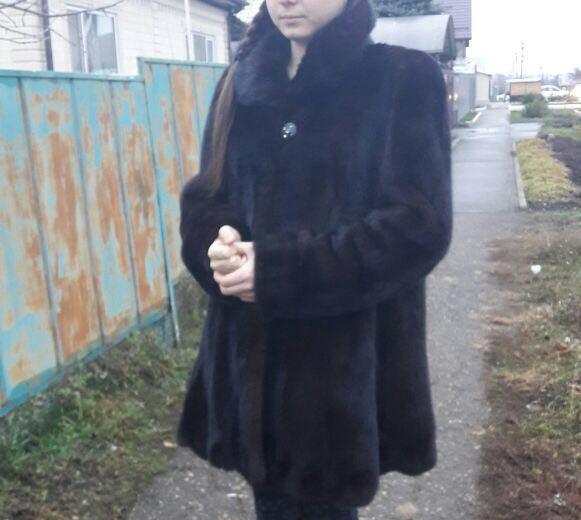 Норковая шуба разлетайка. Фото 1. Ростов-на-Дону.