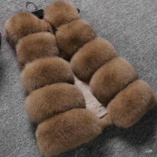 Меховая жилетки женская(иск.мех). Фото 2. Зверево.
