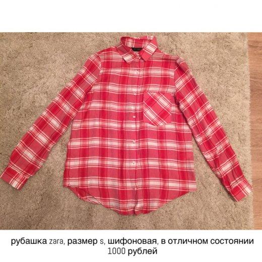 Рубашка zara. Фото 1. Казань.