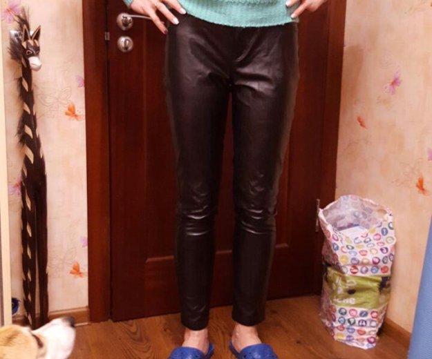 Кожаные брюки. Фото 1. Москва.