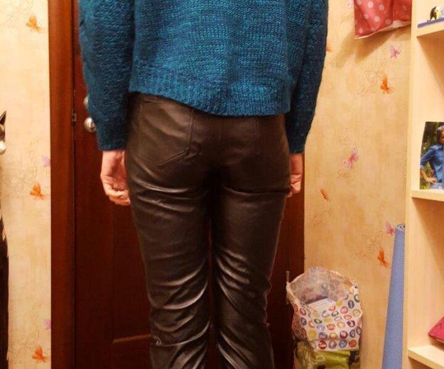 Кожаные брюки. Фото 3. Москва.