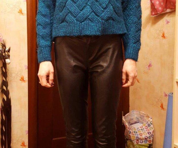 Кожаные брюки. Фото 4. Москва.