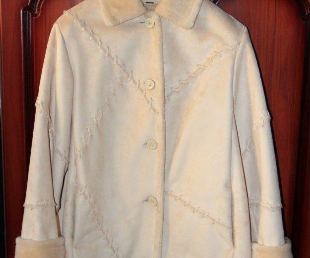 Куртка дубленка, искусственный мех. Фото 2. Москва.
