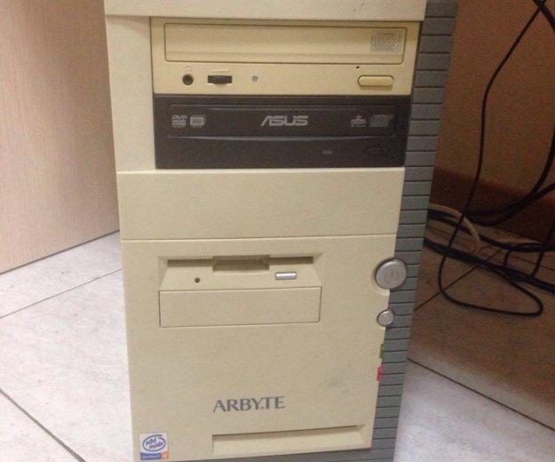 Компьютер ( системный блок+ монитор). Фото 1. Москва.