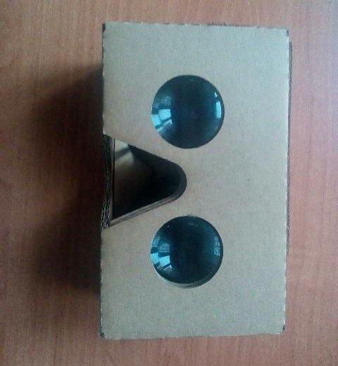 Google cardboard. Фото 2. Химки.