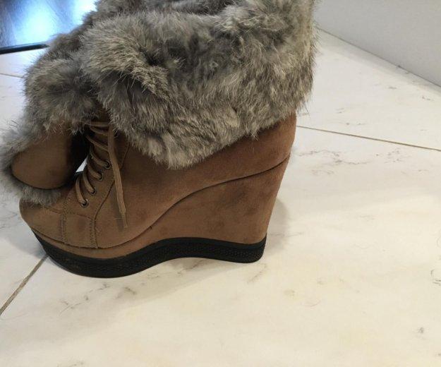 Ботинки зимние. Фото 1. Пушкино.
