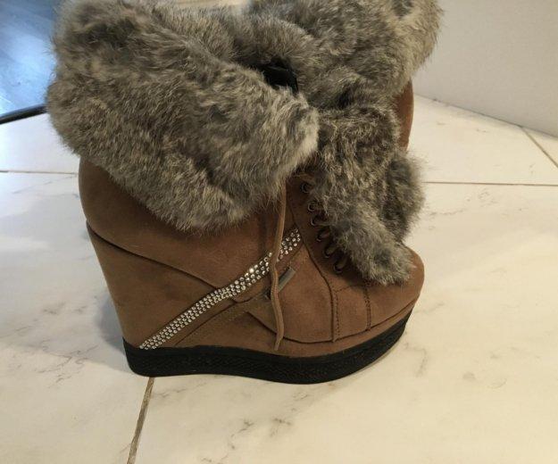 Ботинки зимние. Фото 3. Пушкино.