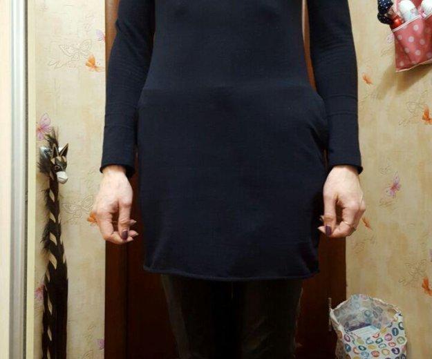 Туника с карманами,свитер сова. Фото 2. Москва.