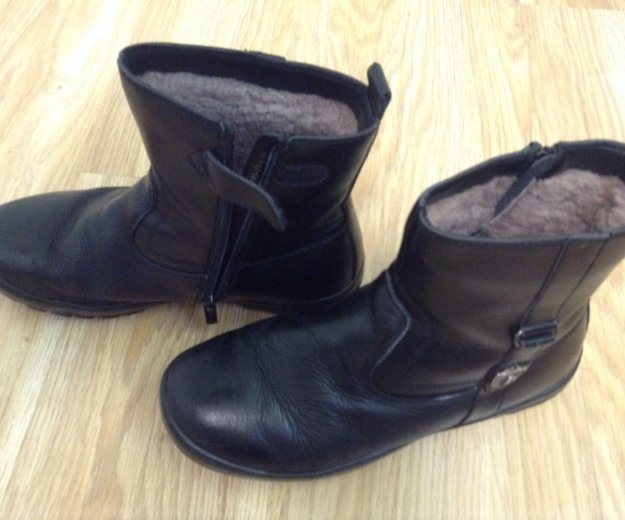 Зимние натуральные ботинки. Фото 2. Балашиха.