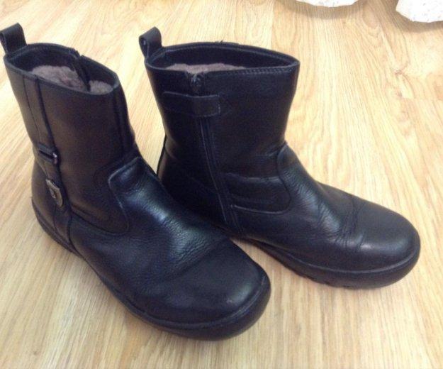 Зимние натуральные ботинки. Фото 3. Балашиха.