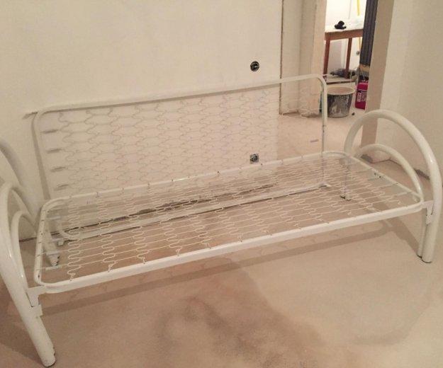 Кровать одноярусная стандарт. Фото 1. Мурино.